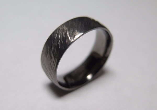 wedding, ring, black rhodium, white gold, jeweller, chesham, buckinghamshire